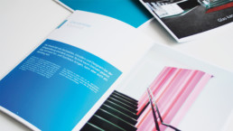 Kreative Image-Broschüre