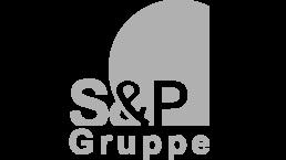 S&P Gruppe Logo grau