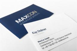 Visitenkarten für Maxcon