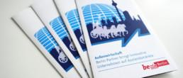 Flyer für den Bereich Außenwirtschaft
