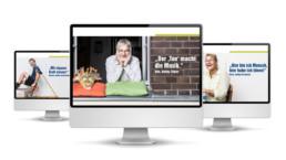 Screen Kampagne für Reinickes Hof eG