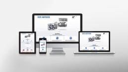 NORD Getriebebau Referenz Landingpage für Projekt Der Antrieb