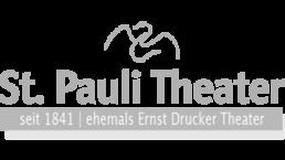 St. Pauli Theater Logo grau