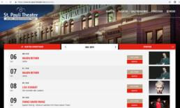 St. Pauli Theater Referenz Detailseiten