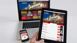 St. Pauli Theater Referenz Mockup Geräte Desktop Tablet Mobil